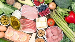 Verduras, frutas, carnes aceites y grasas para la dieta cetogénica